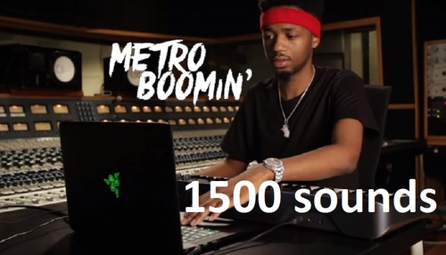 Product picture Metro Boomin Drum Sound KIT samples TRap MAsCHINE MPC logic